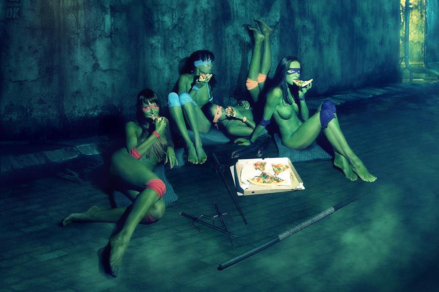 Эротические фотографии черепашек ниндзя 13 фотография