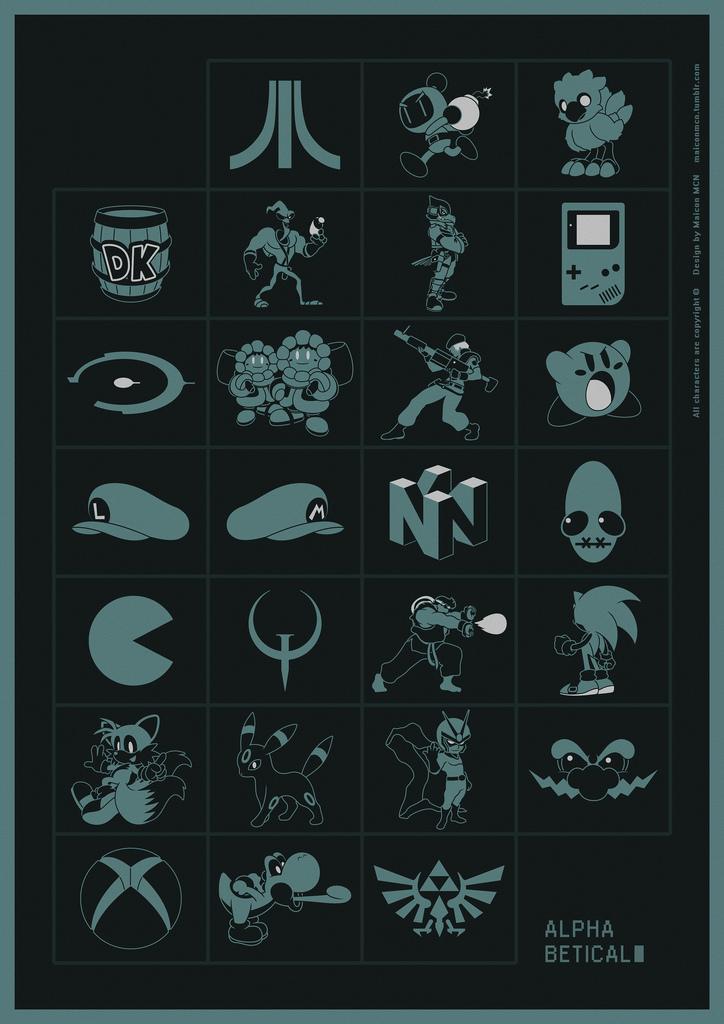 Новый алфавит видеоигр