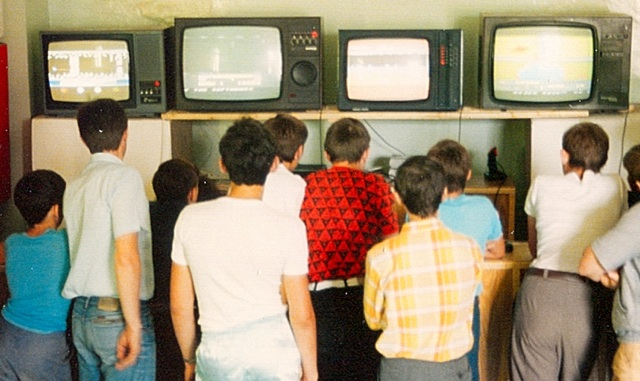 Ялта, клуб видеоигр, СССР