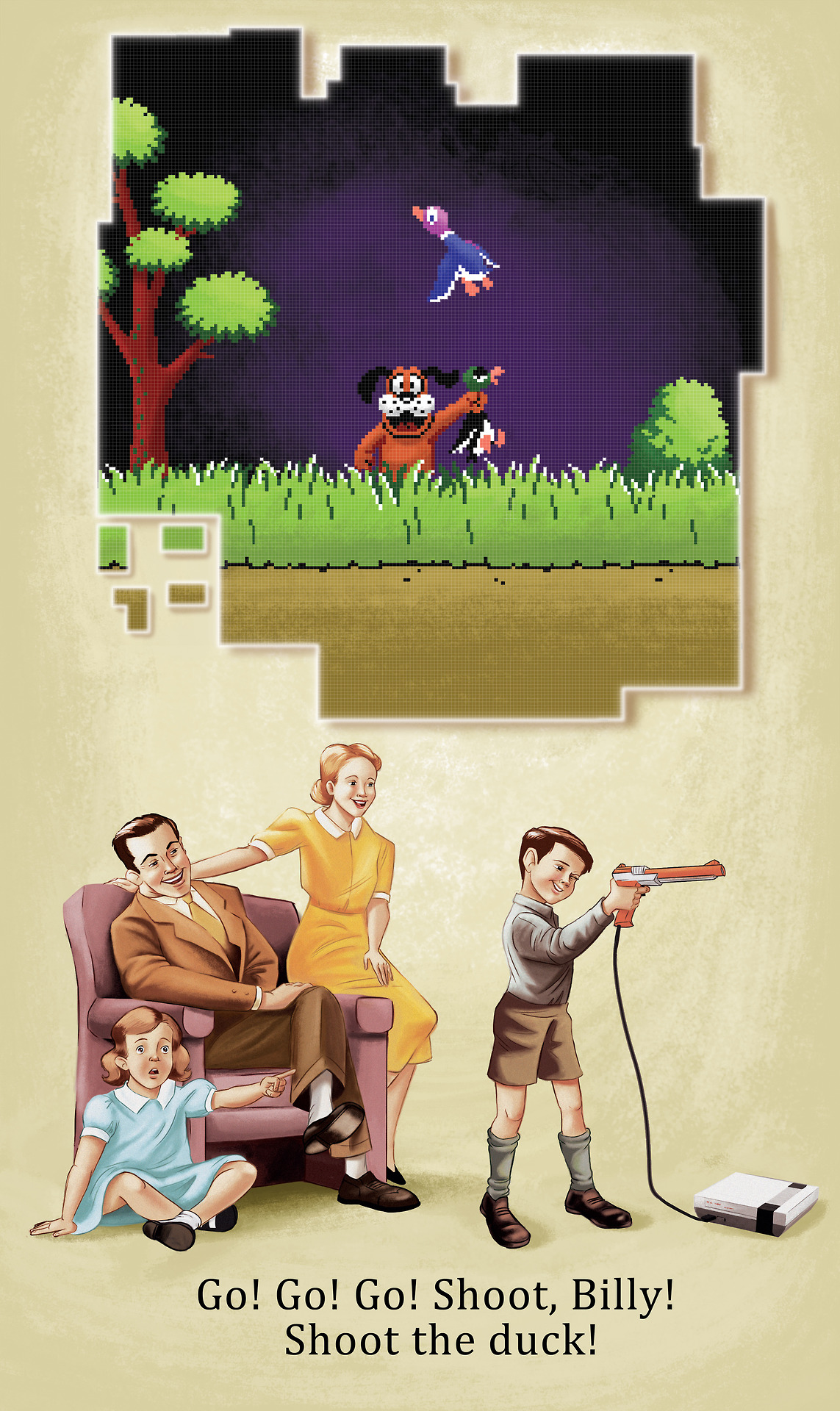 Duck Hunt by Heather Martinez
