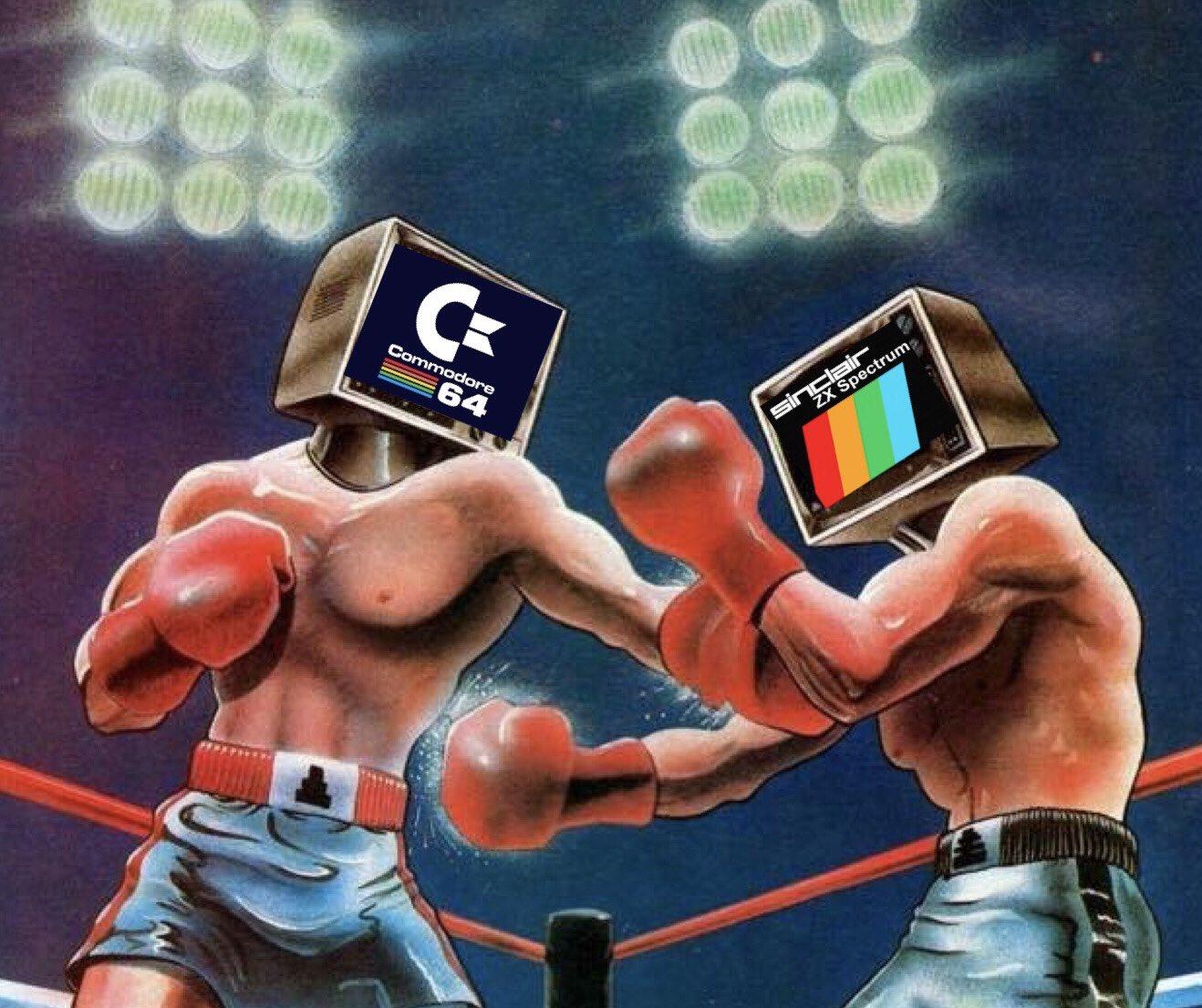 C64 vs ZX