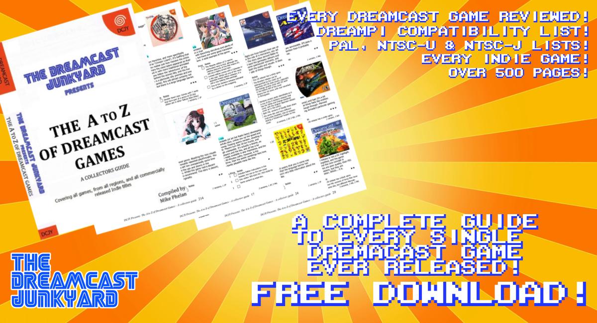 Игры Dreamcast от А до Я