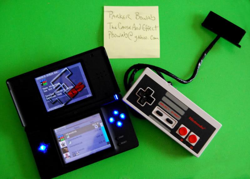 Подключаем NES GamePad к Nintendo DS