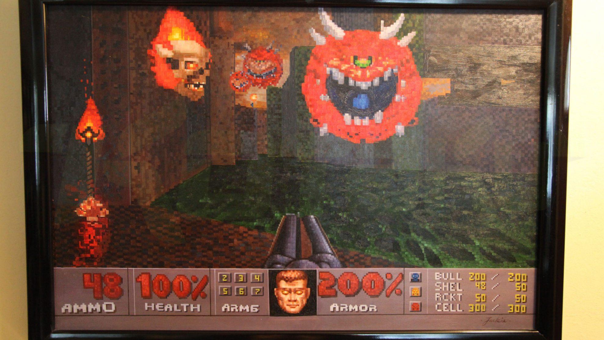 Doom, как искусство