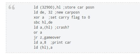 Как написать игру для ZX-Spectrum (в 2012 году)
