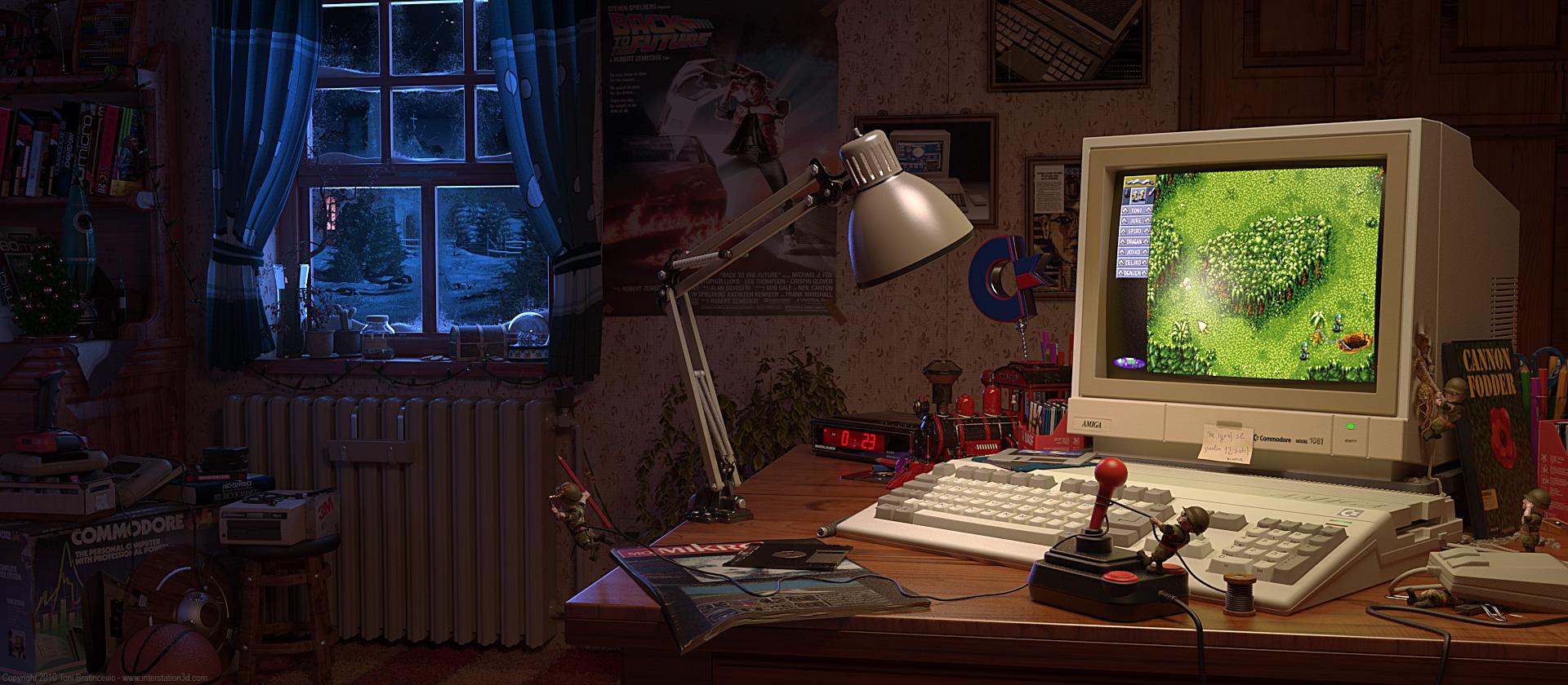Amiga Cannon Fodder room