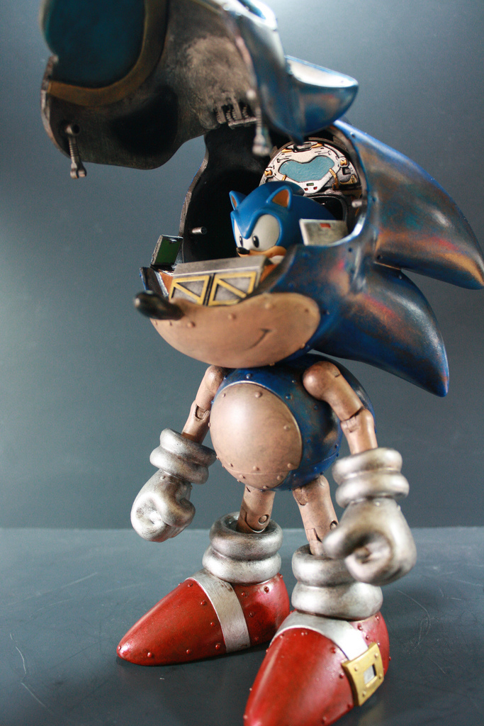 Настоящий steampunk Sonic