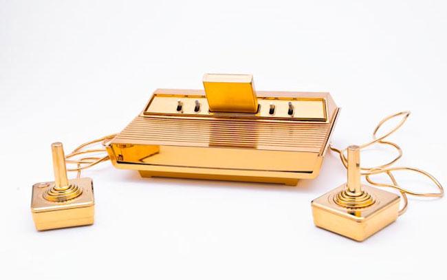 Золотая Atari 2600