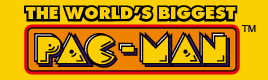 Крупнейший Pacman ждет тебя!