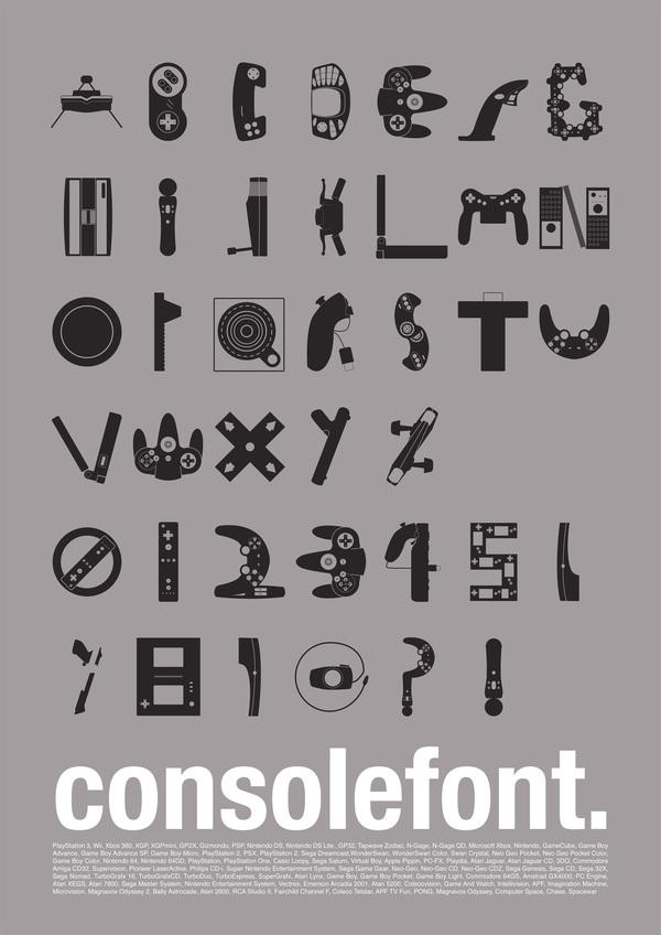 Консольный шрифт