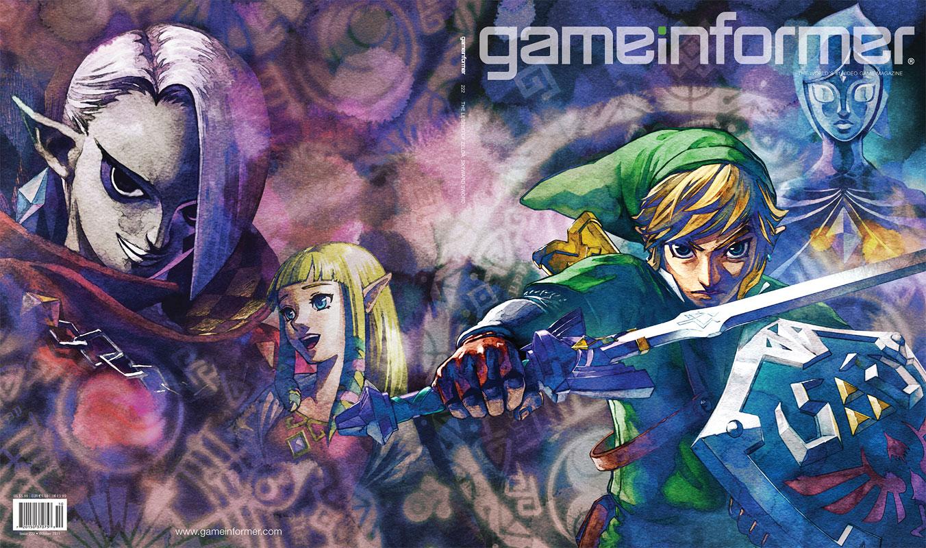 Zelda на обложке нового номера Game Informer