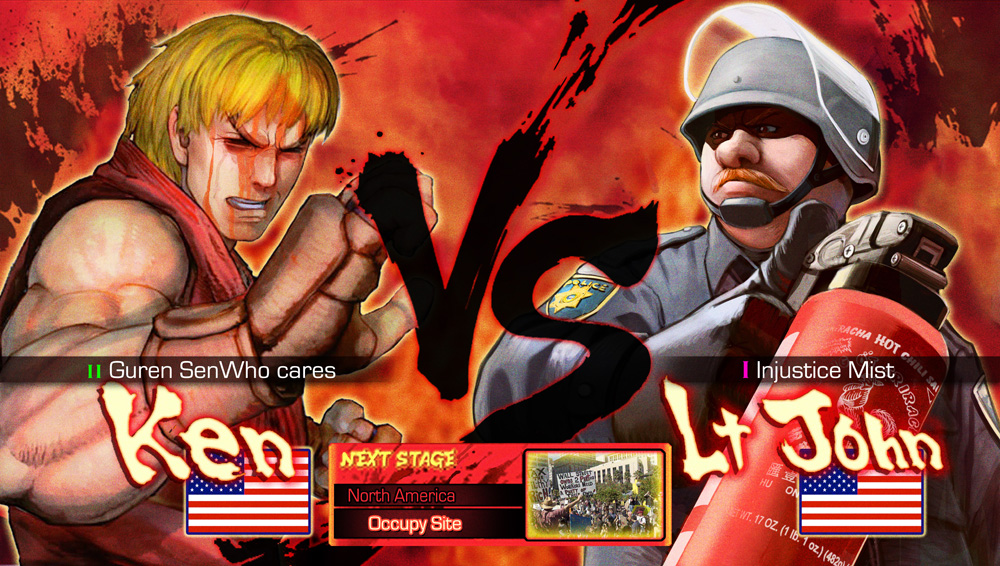 В следующей части Street Fighter
