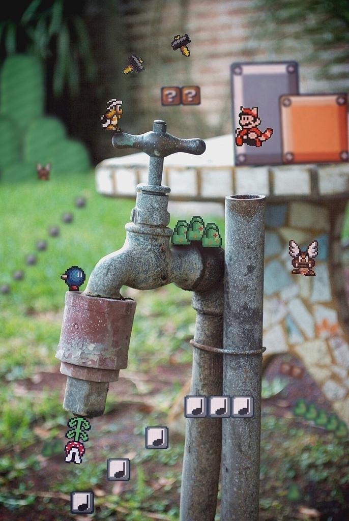 Дополненная реальность Mario