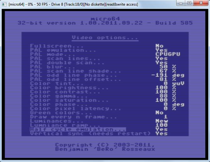 Сверхточный эмулятор Commodore 64