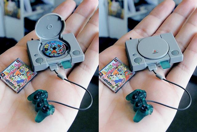 Миниатюры игровых консолей