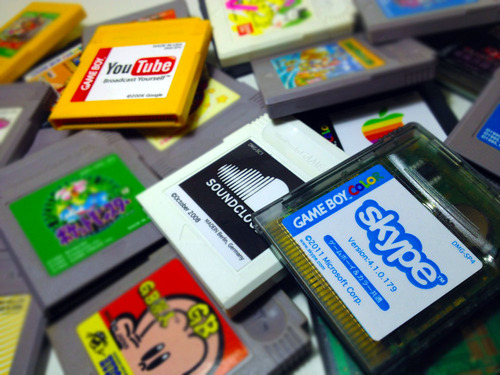 Интернеты для GameBoy