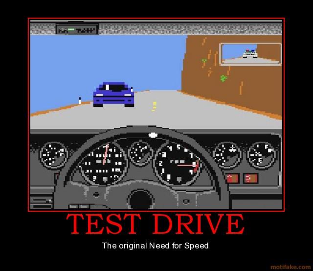 Когда Test Drive был еще тот...