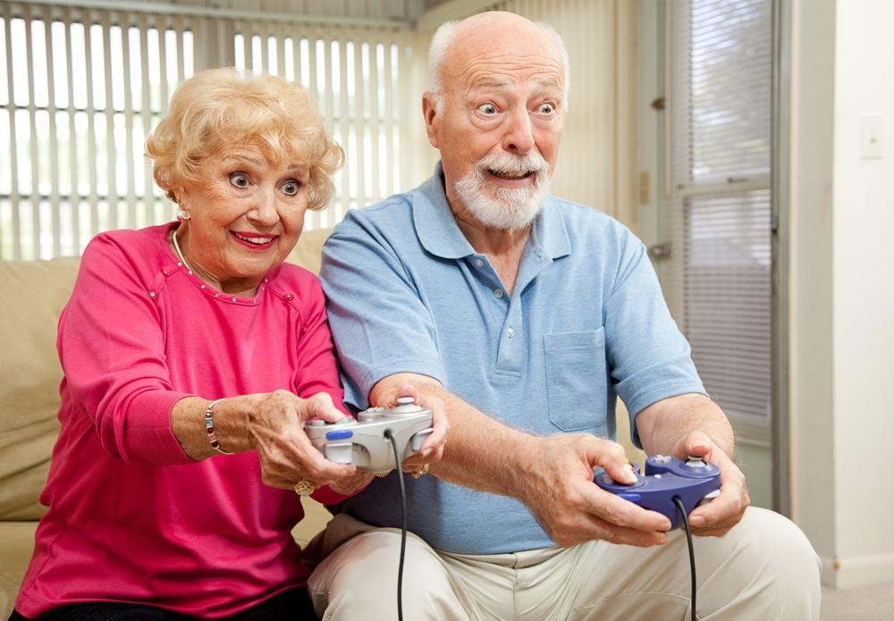 Пожилые геймеры одобряют!