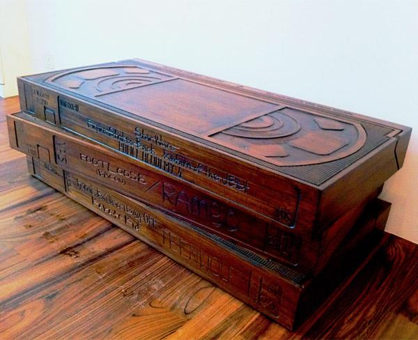 Деревянный VHS