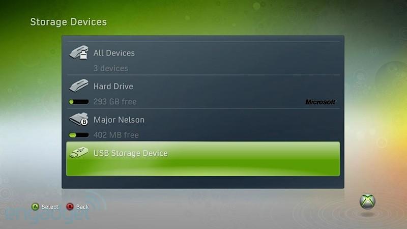 Внешние USB-накопители для XBOX 360 станут реальностью!