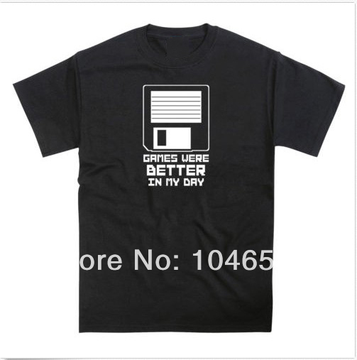 new-2014-design-men-t-shirt-Brand-New-Amiga-PC-Floppy-Disk-Homage-Funny-Gaming-Unisex