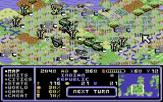 8-bit Civilizations (C64)
