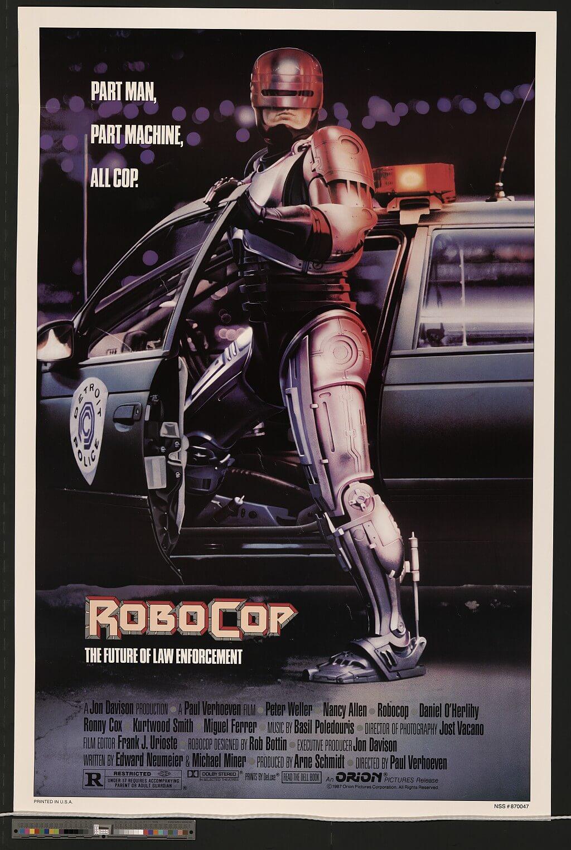 Постер Robocop
