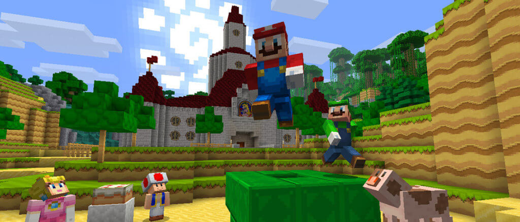 Minecraft выходит на Nintendo Switch