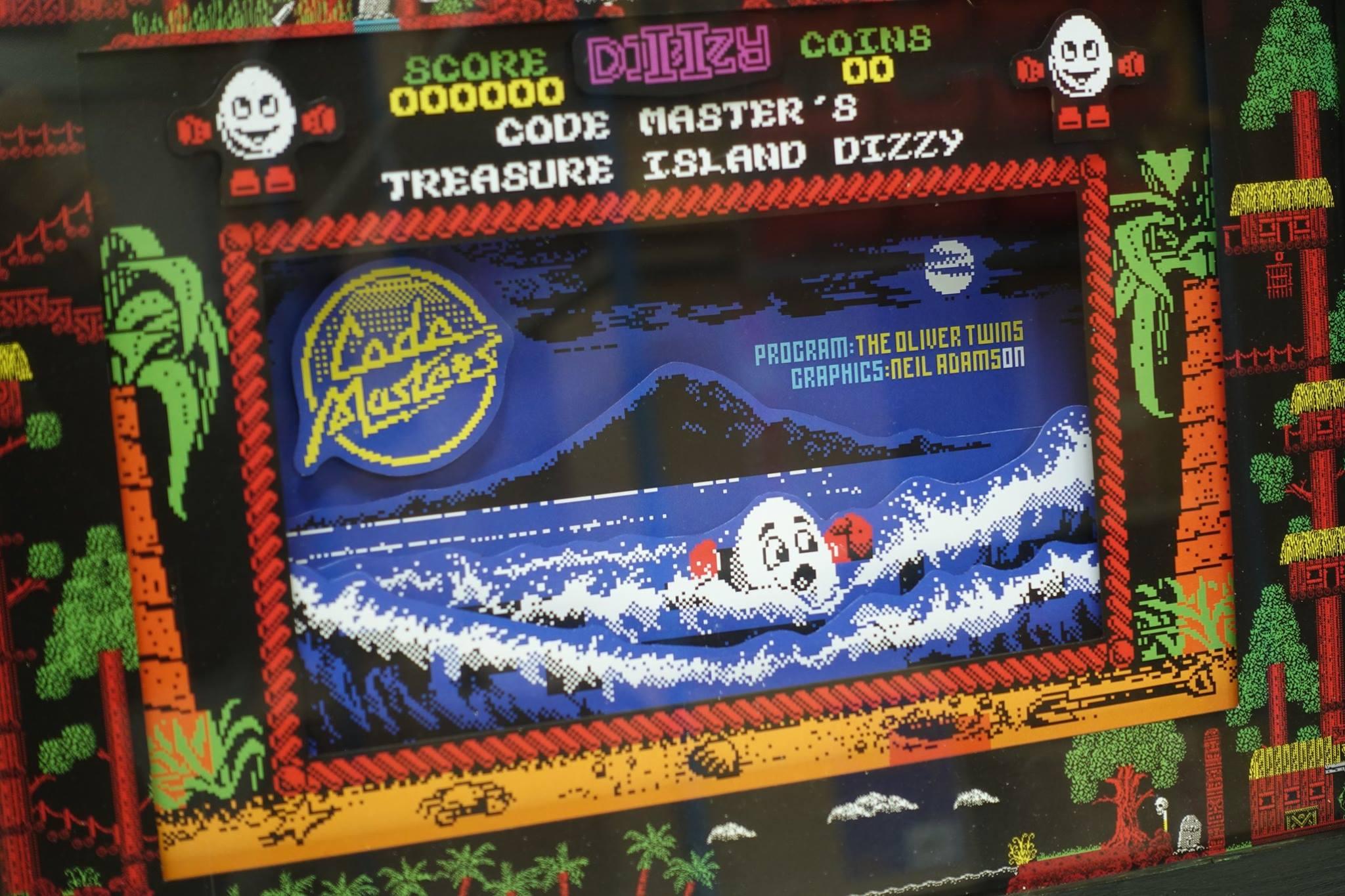 Dizzy в рамке