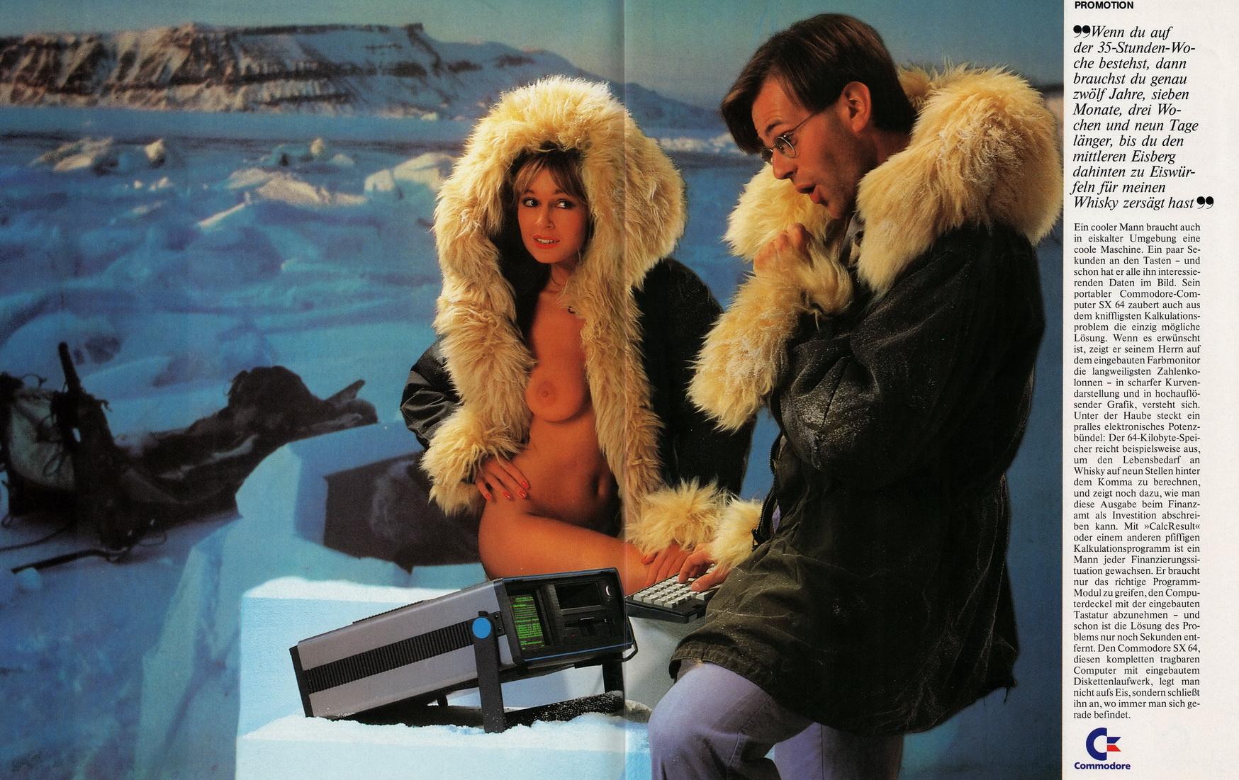 Голый Commodore #1