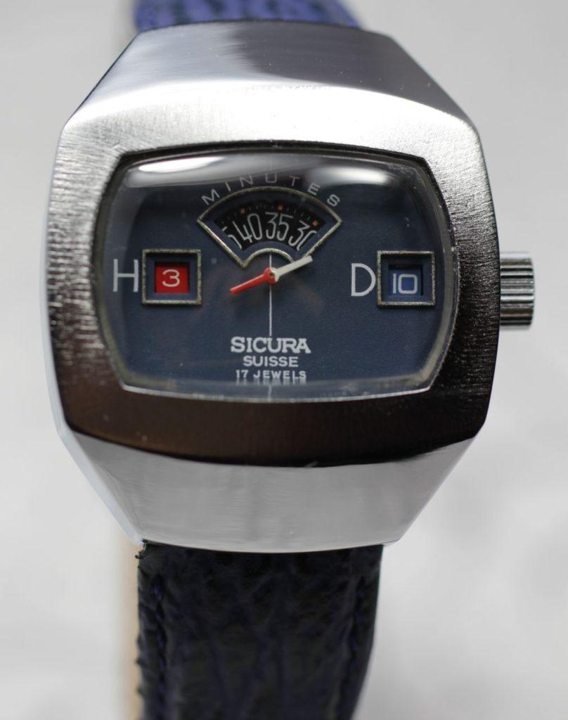 Часы-электросчетчик