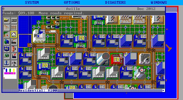 Суть SimCity