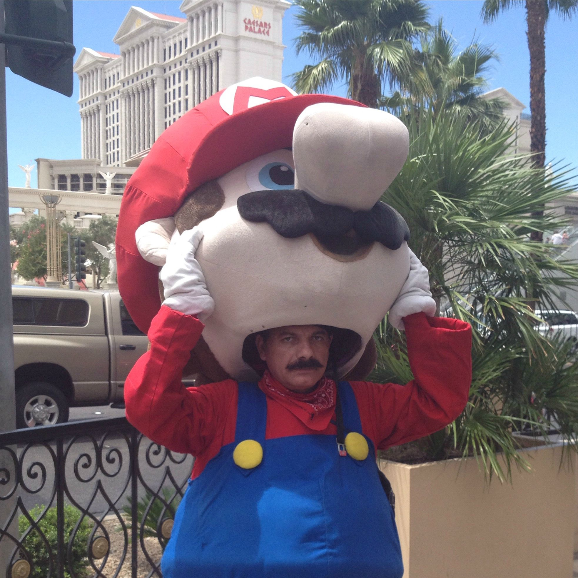 Mario in real life