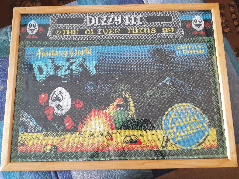 Stitch art - Dizzy 3
