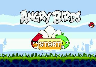 Angry Birds на Sega Mega Drive