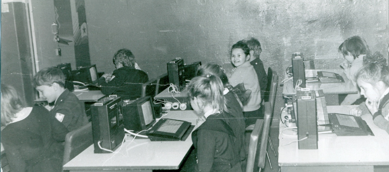 Компьютер БК-0010 в советской школе