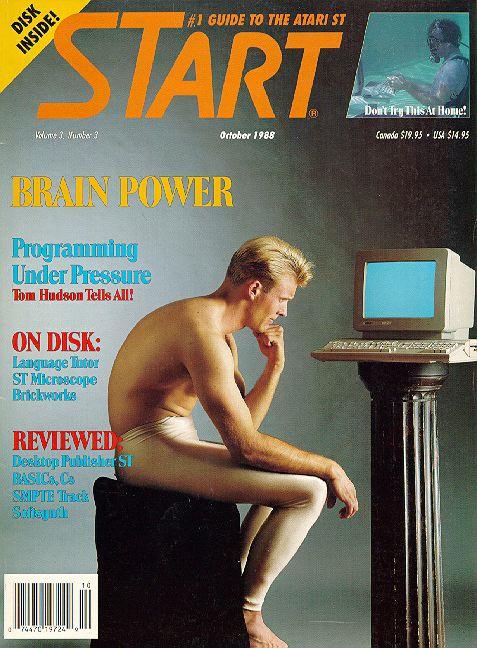 STart Magazine cover - Brain Power - full