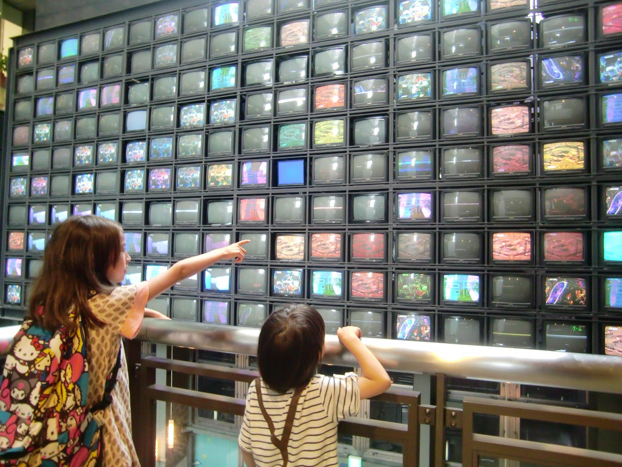 CRT video-wall