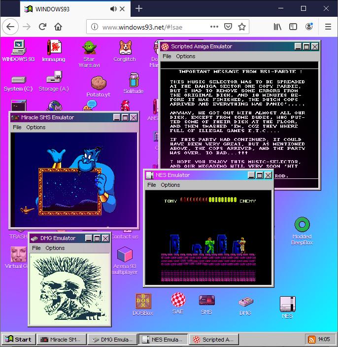 Windows 93 и эмуляция