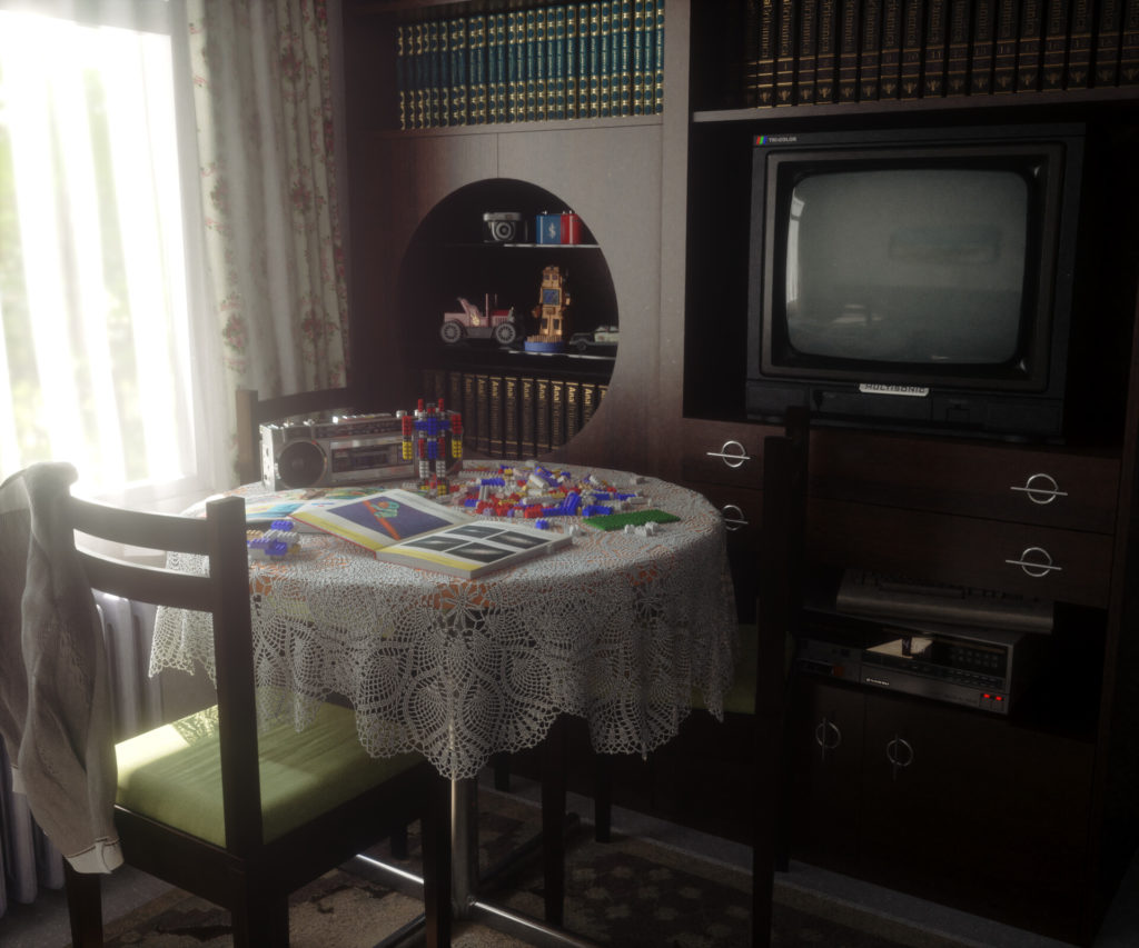Комната из 90-ых