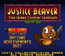 Игра Justice Beaver для SNES