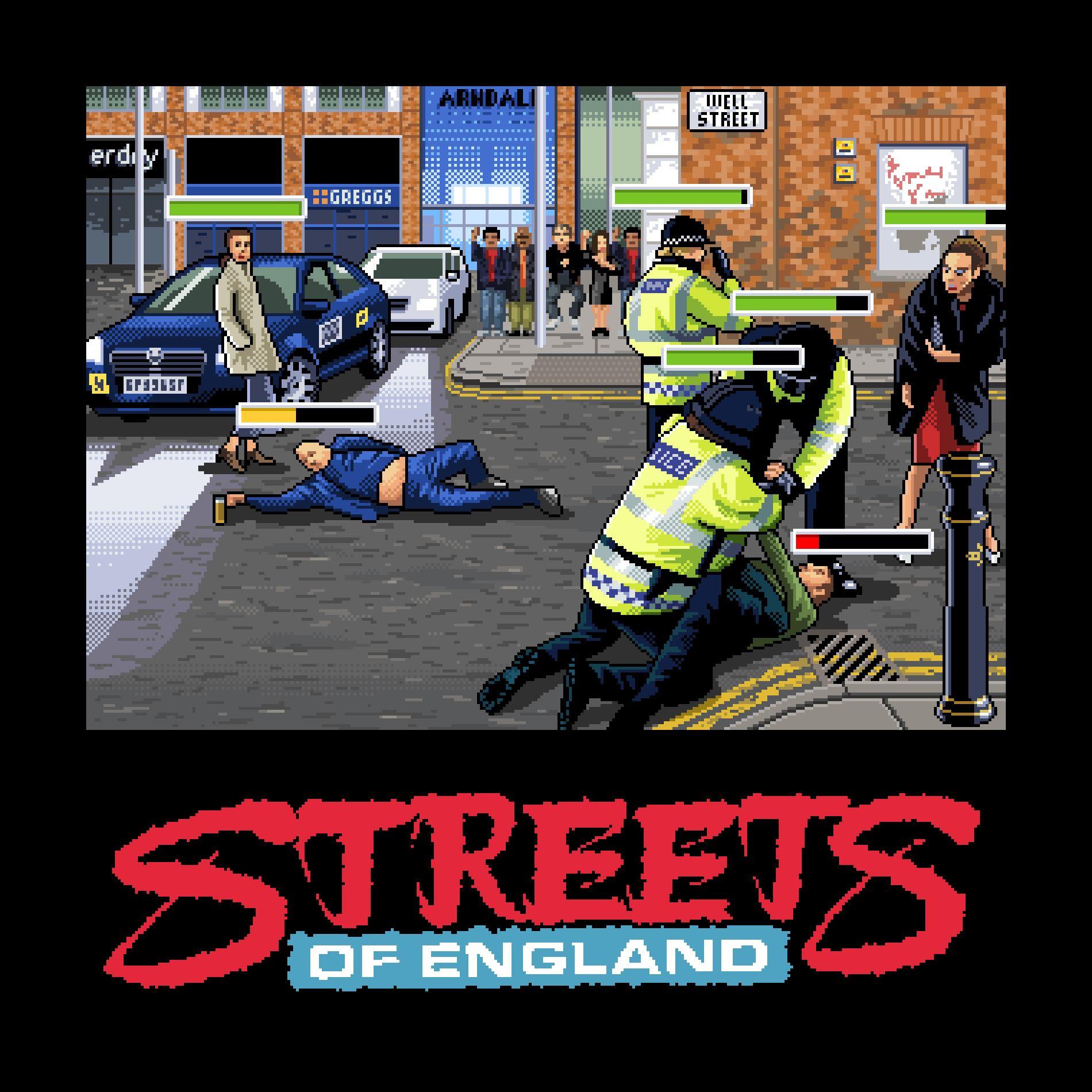Улицы Англии