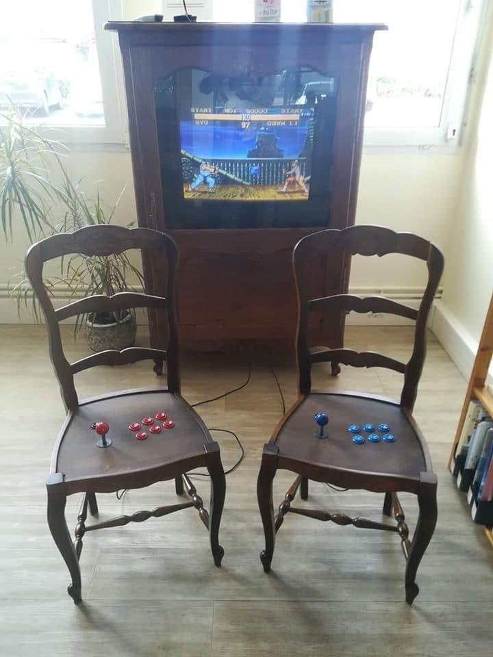 Есть два стула...