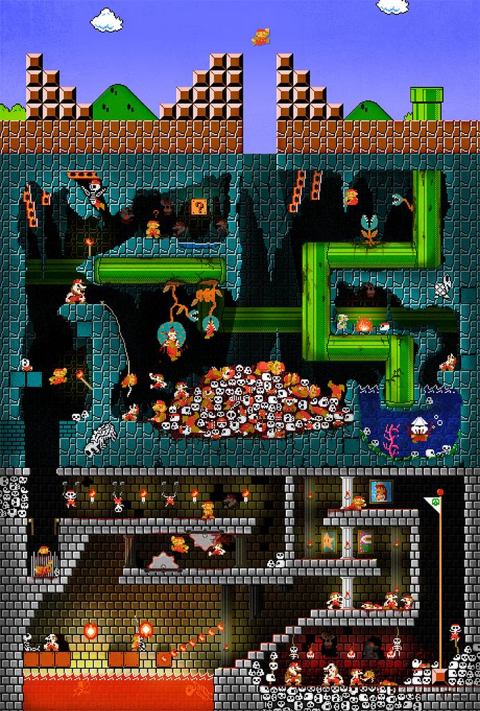 Mario pit