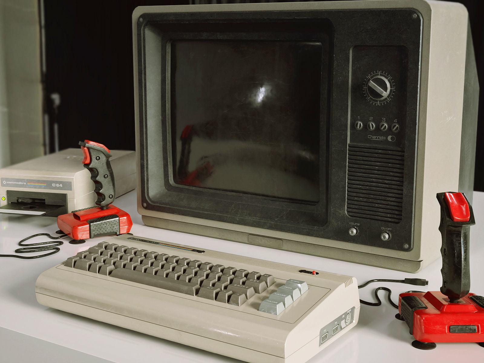 C64 в Blender