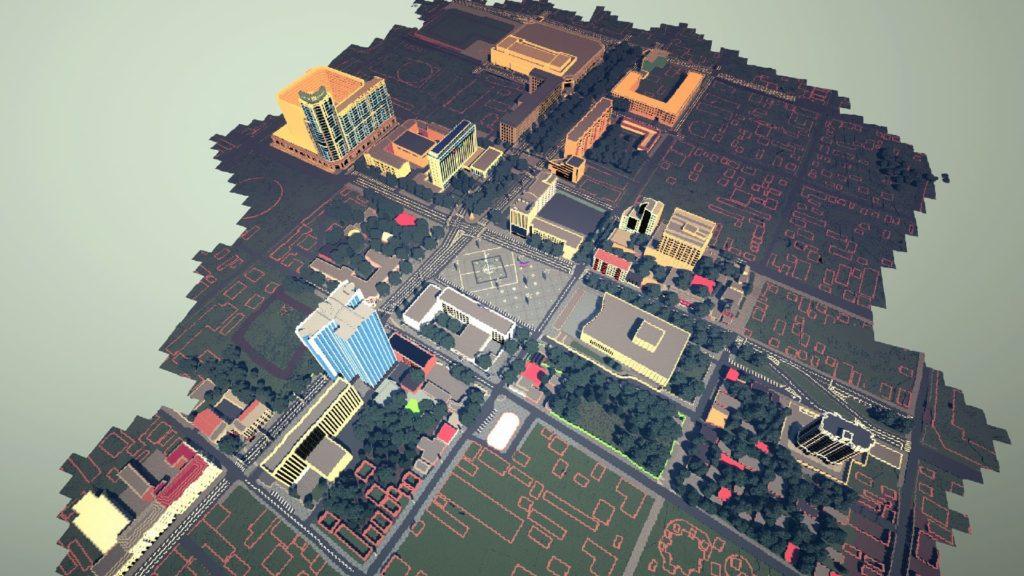 Города в Minecraft