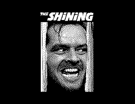 The Shining on ZX Spectrum