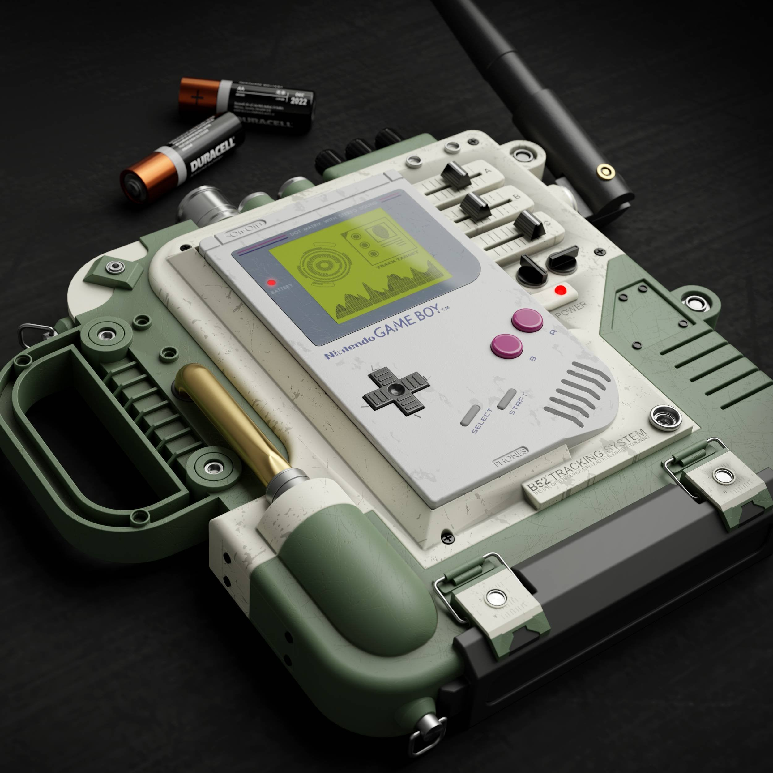 Military Game Boy