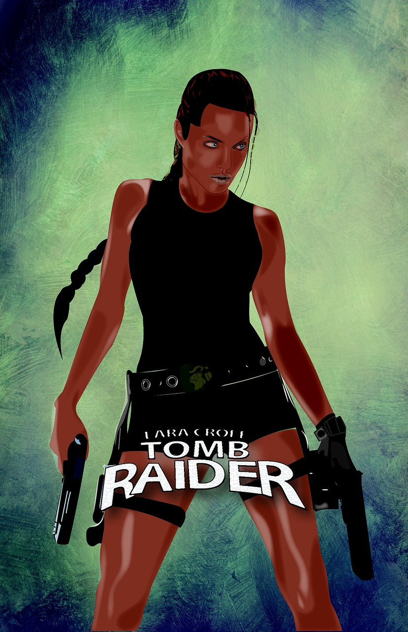 Lara Croft Tomb Raider - poster