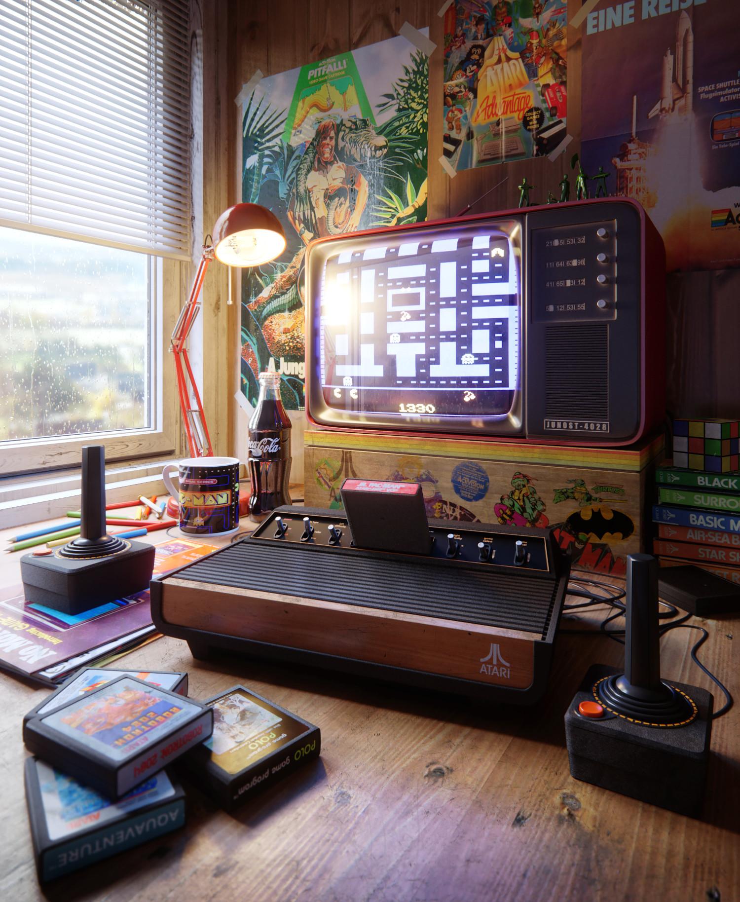 Детство на Atari 2600